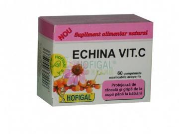 Echina Vit C 60 cpr masticabile